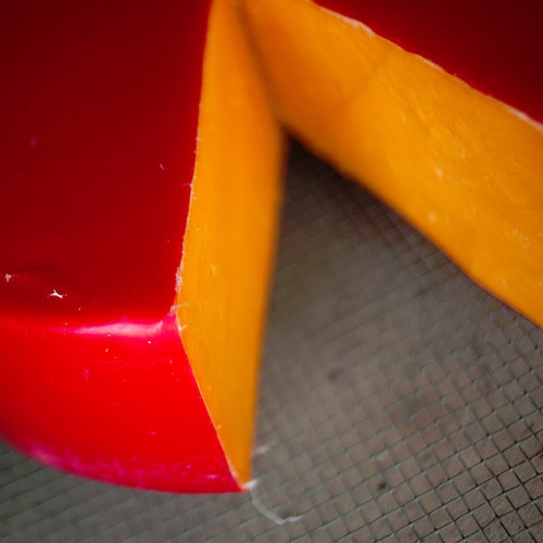 Red Rind Hoop Cheese
