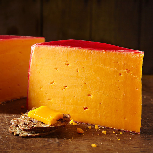 Red Rind Hoop Cheese