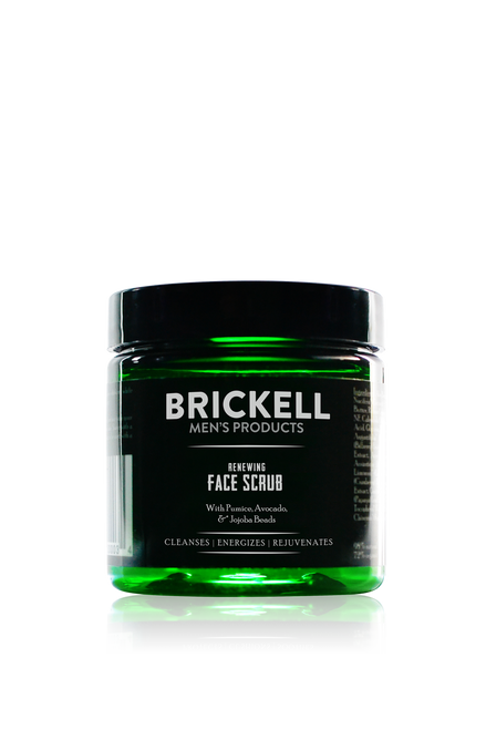 Brickell Men's Products Renewing Face Scrub (118ml) (FS134)