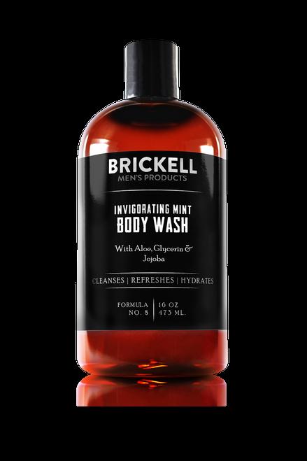 Brickell Men's Products Invigorating Mint Body Wash (437ml)