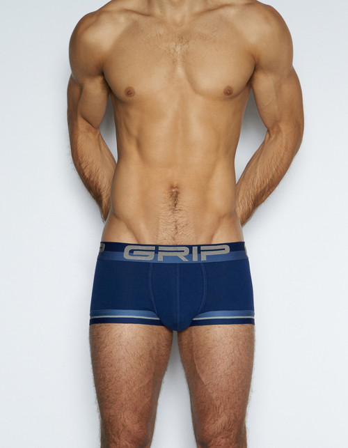 C-IN2 Underwear - Grip Mesh Army Trunk Blue (6323-450)