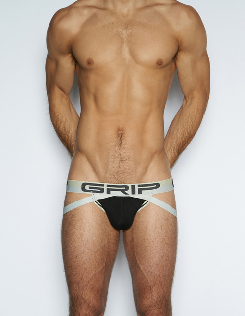 C-IN2 Underwear - Grip Mesh Street Jock Black (3626-001)