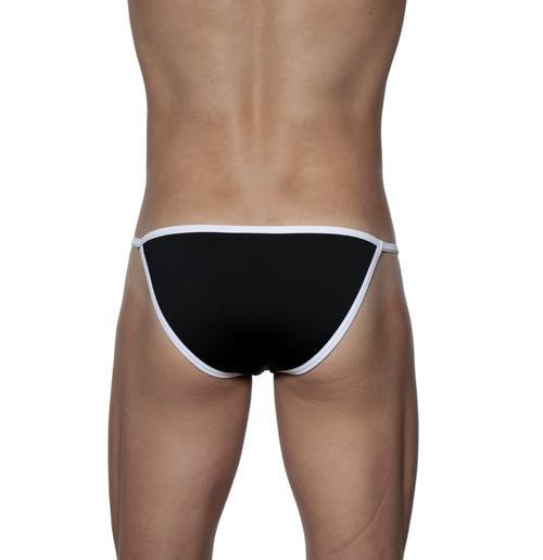 Groovin' Accent String Bikini Black