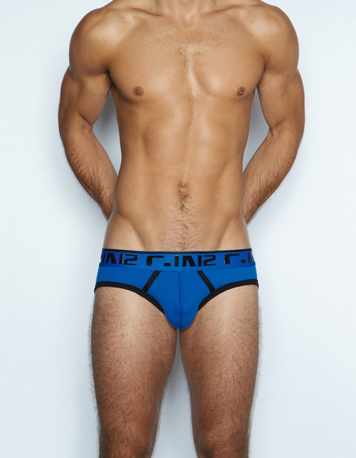 C-IN2 Underwear - Super Bright Profile Brief Obi Blue (1013-485)