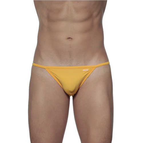 Groovin' String Bikini Golden Yellow