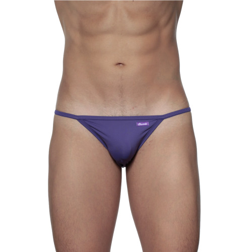 Groovin' String Bikini Indigo Purple