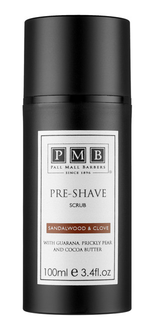Pall Mall Barbers Pre-Shave Scrub (100ml) (PMB-SP-001)