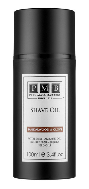 Pall Mall Barbers Shave Oil (100ml) (PMB-SP-007)