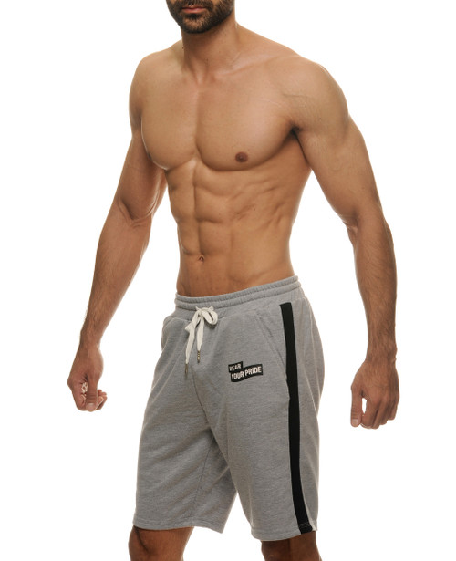 STUD Sweat Shorts Denver Heather Grey (RW700BS09)