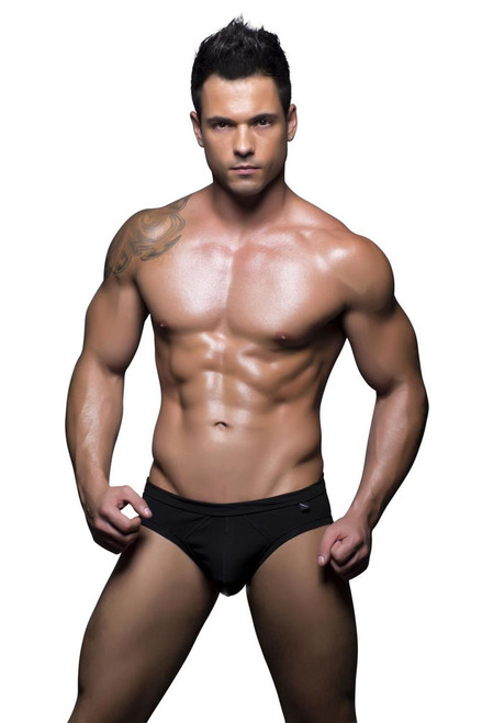 Andrew Christian Underwear Basix Tagless Comfort Brief Black (90129-BLK)