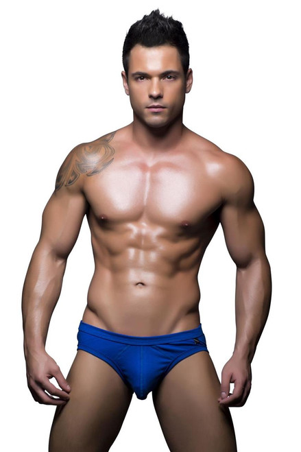 Andrew Christian Underwear Basix Tagless Comfort Brief Blue (90129-BLUE)