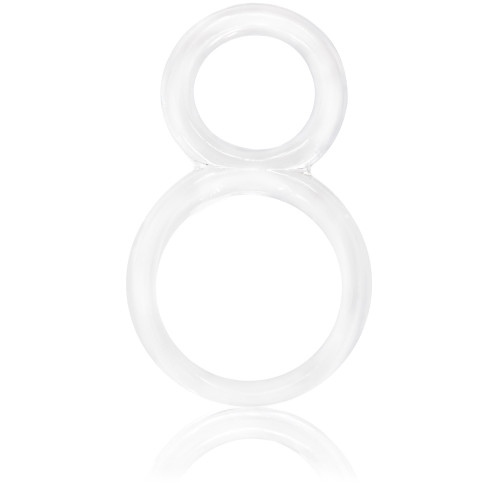 Screaming O Ofinity Double Erection Ring Clear (OFY-110-CL)