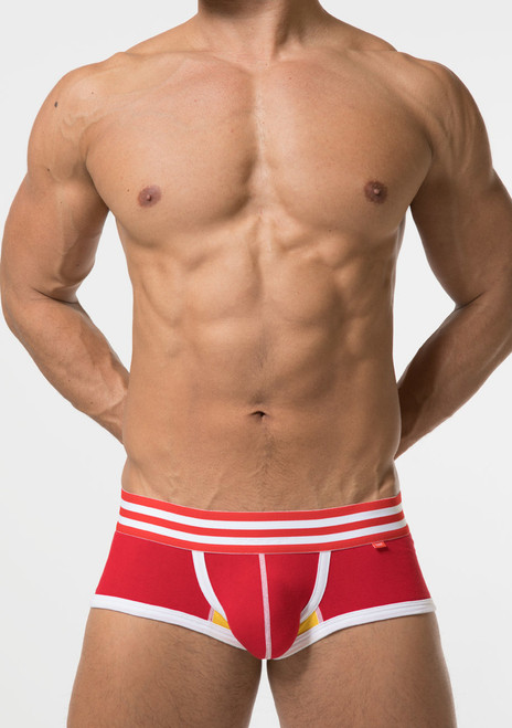 TOOT Underwear Cotton Stretch Nano Trunk Red (NB08G270-Red)