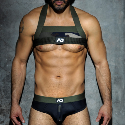 Addicted Fetish Camo Mesh Harness (ADF34-17)