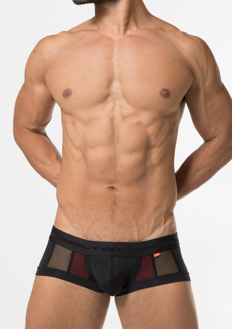 TOOT Underwear Double Mesh Nano Trunk Red (NB16G378-Red)