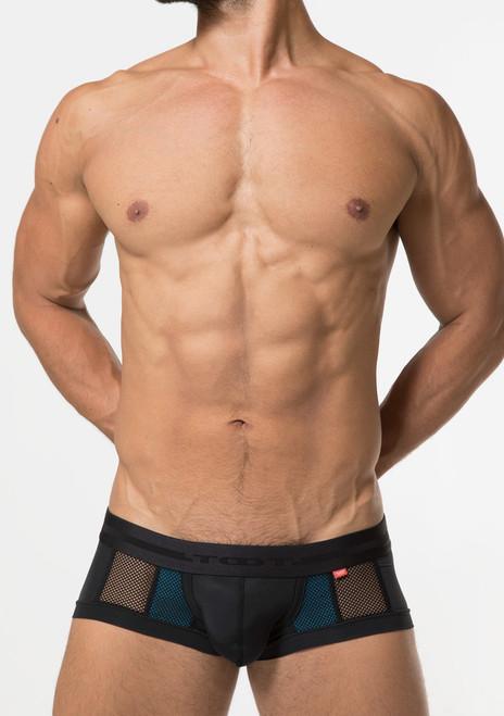 TOOT Underwear Double Mesh Nano Trunk Blue (NB16G378-Blue)