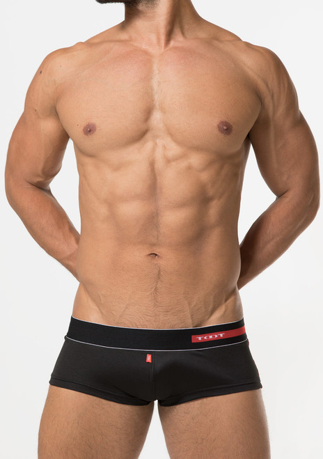 TOOT Underwear Light Knit Super Lowrise Trunk Black (KT17G379-Black)