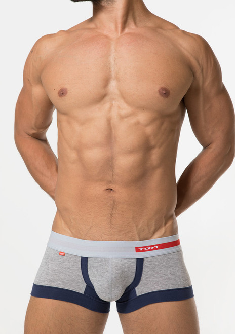 TOOT Underwear Wide Hem Trunk Grey (CB05G274-Grey)