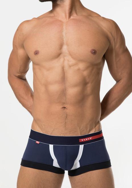 TOOT Underwear Wide Hem Trunk Navy (CB05G274-Navy)