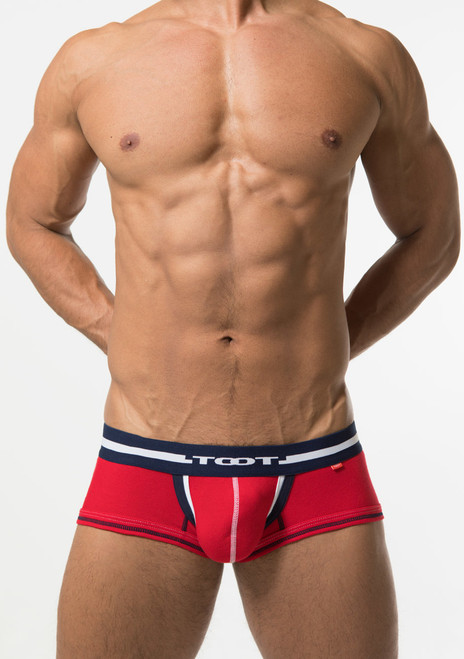 TOOT Underwear Layered Binder Boxer Trunk Red (NB24G277-Red)