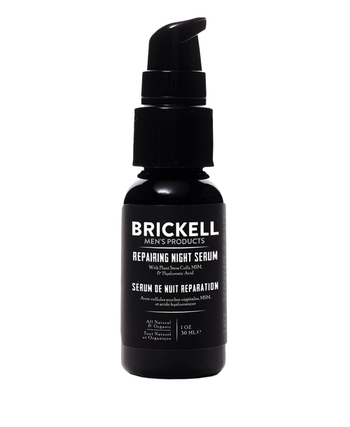 Brickell Men's Products Repairing Night Serum for Men (30ml)
