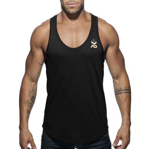 Addicted Military Tank Top Black AD611 (AD611-10)