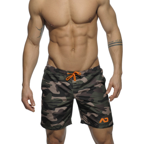 Addicted Swimwear Camouflage Long Short (ADS095-17)