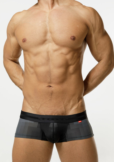 TOOT Underwear Pixelated Nano Trunk Black (NB33H306-Black)