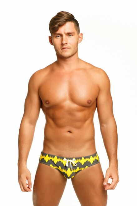 Marcuse Swimwear Magnetic Swimbrief Yellow (Marcuse-Magnetic-Swimwear-Yellow)
