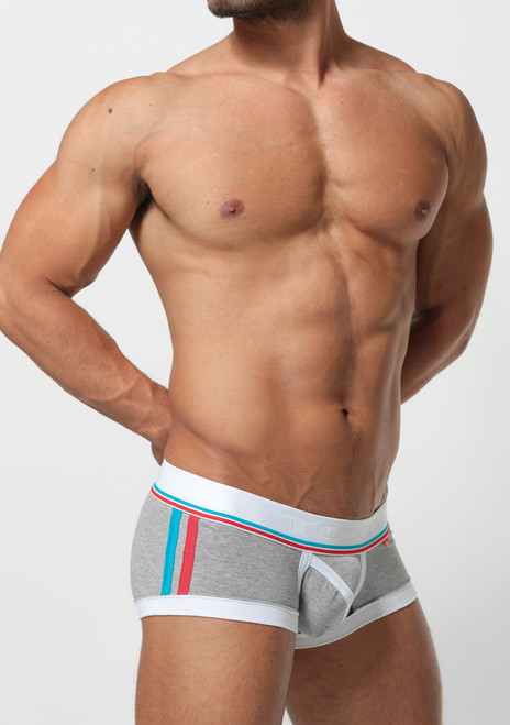 TOOT Underwear Slash Line Nano Trunk Gray (NB38H285-Gray)