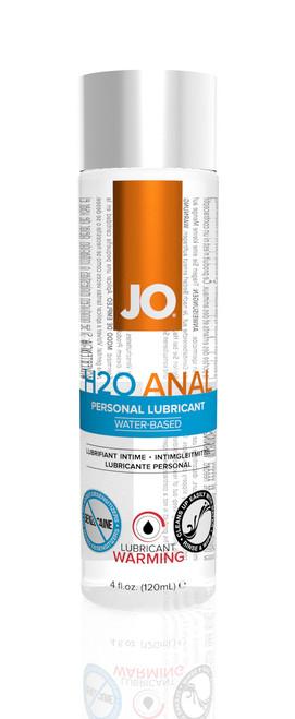 System JO H2O Anal Warming Lubricant 120ml (40110)