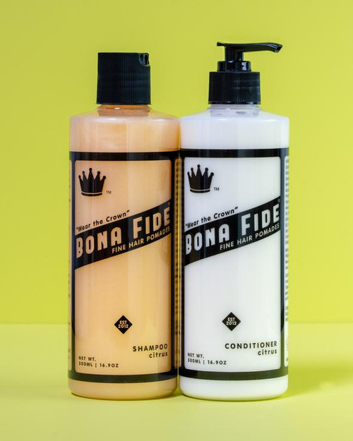 Bona Fide Hair Shampoo + Conditioner Set (16.69 oz each)