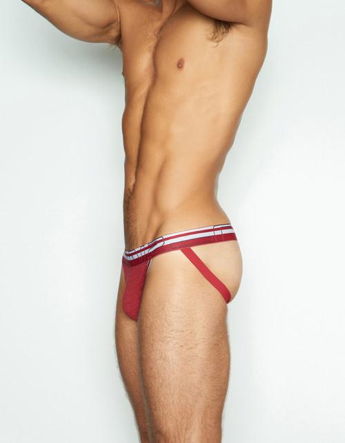 C-IN2 Underwear - Zen Jock Valor Red Heather (3226-611)