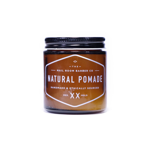 The Mailroom Barber Co Natural Pomade Medium (3.5 oz)
