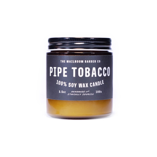 The Mailroom Barber Co Pipe Tobacco Candle (3.5 oz)
