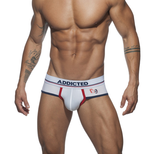 Addicted Underwear Sport 09 Brief White (AD707-01)