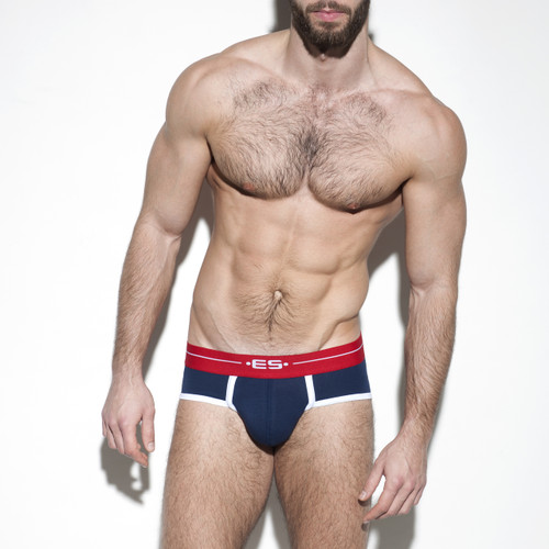 ES Collection Underwear UN261 7 Days Brief Navy (UN261-09)