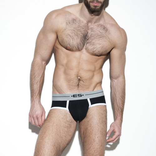 ES Collection Underwear UN261 7 Days Brief Black (UN261-10)