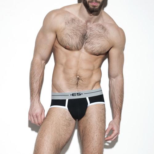 ES Collection Underwear UN261 7 Days Brief Black (UN261-10)