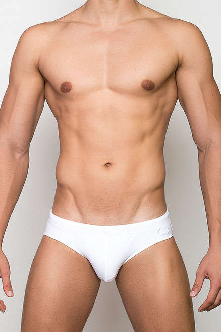 2EROS Swimwear Core Swim Brief White (V1041WH)