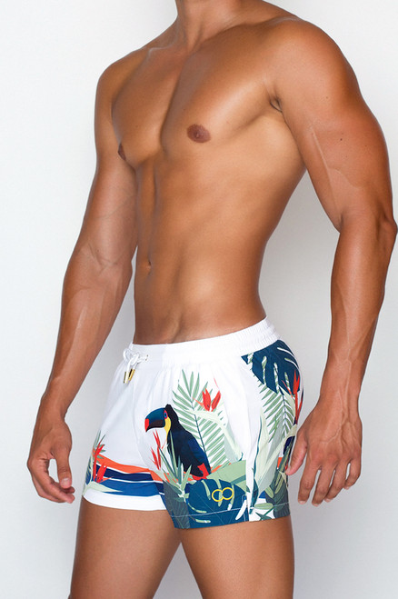2EROS Beachwear Birds of Tropics Shorts (S5043BT)