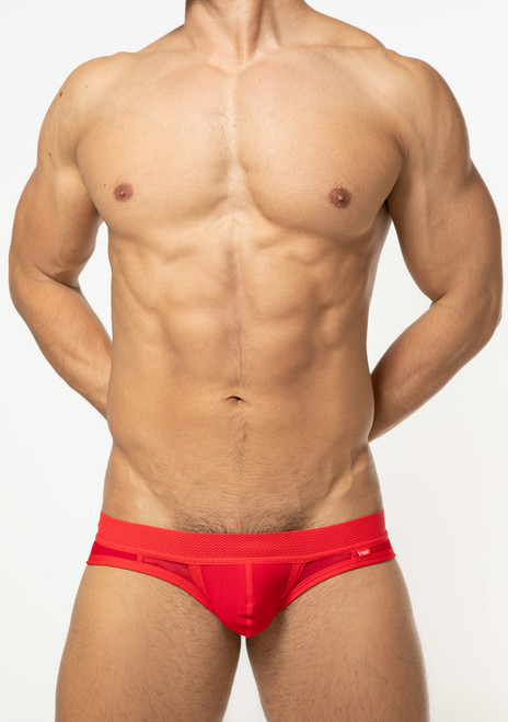 TOOT Underwear Quatro Mesh Bikini Brief Red