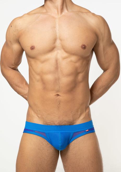 TOOT Underwear Quatro Mesh Bikini Brief Blue (CV461354-Blue)