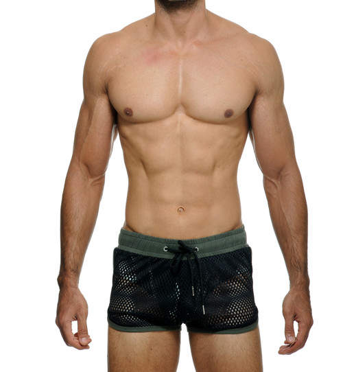 STUD Beachwear Hustler Shorts Army Green (RW950BS15)