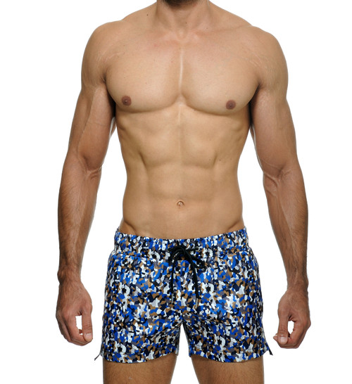 STUD Optic Athletic Shorts Blue (RW955BS18)