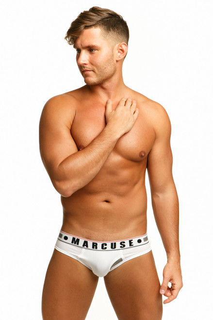 Marcuse Underwear Monument Brief White (Marcuse-Monument-White)