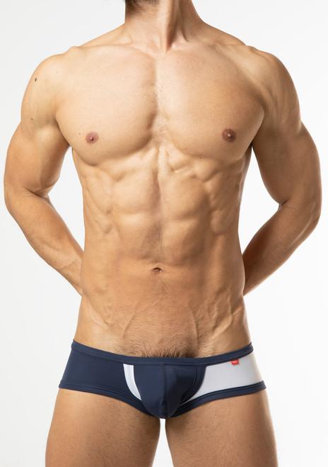 TOOT UnderweTOOT Underwear Bicolor Super Nano Trunk Navy (SN27I351-Navy))