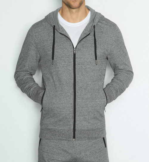 C-IN2 Grip BI-1 Athletic Hoodie Iron Heather (5447-035)