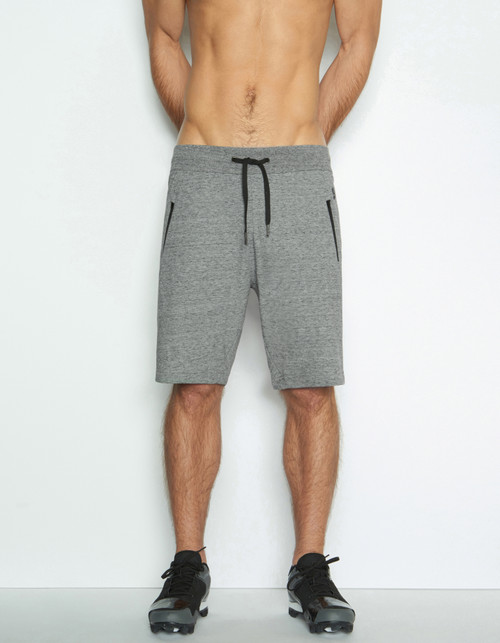 C-IN2 Grip BI-1 Athletic Sweat Shorts Iron Heather (5444-035)