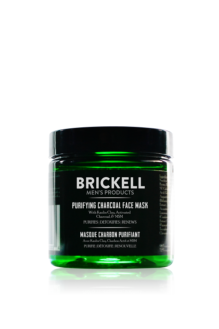 Brickell Men's Products Purifying Charcoal Face Mask for Men (4oz)